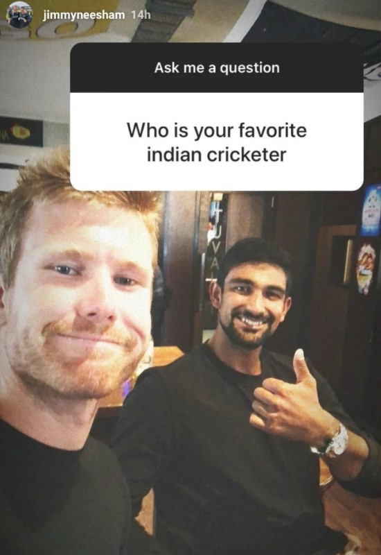 When Neesham sarcastically picked his favourite Indian cricketer