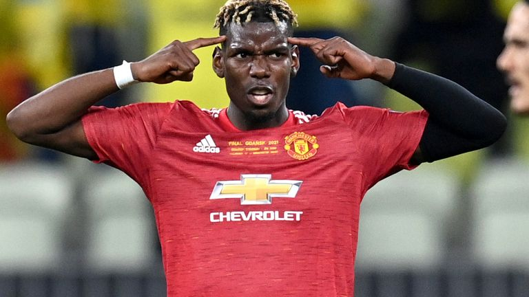 Pogba rejects contract extension offer by Manchester United
