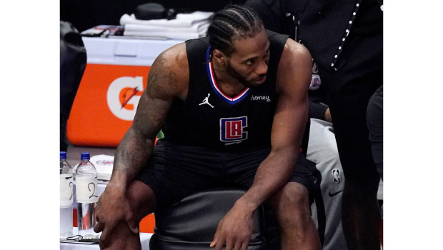Kawhi Leonard picked up an ACL injury against the Utah Jazz which ruled him out of the Clippers' final eight playoff games last term.