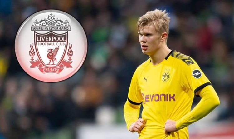 Liverpool Transfer: Erling Haaland contact